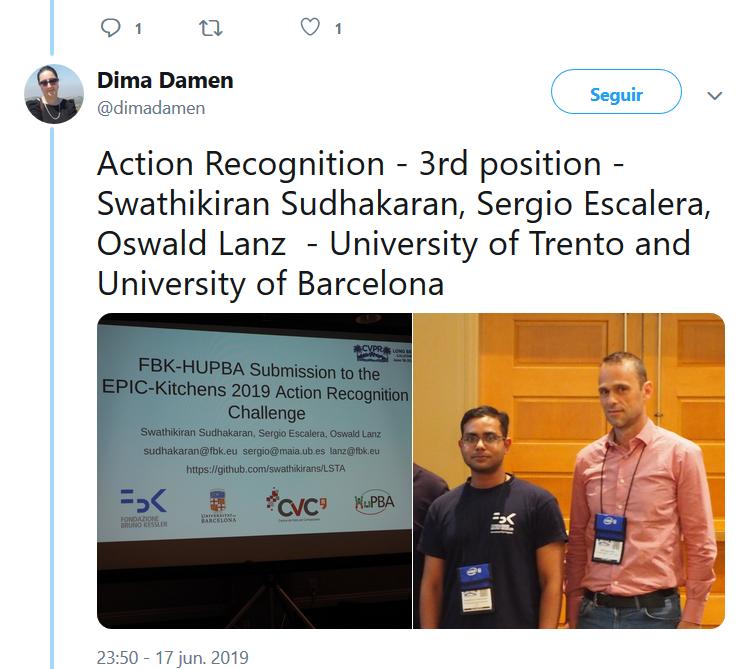 Sergio Escalera – Dissemination